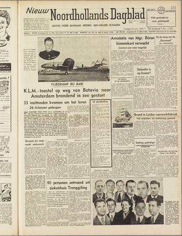 Nieuw Noordhollandsch Dagblad : voor Alkmaar en omgeving 1949-06-24