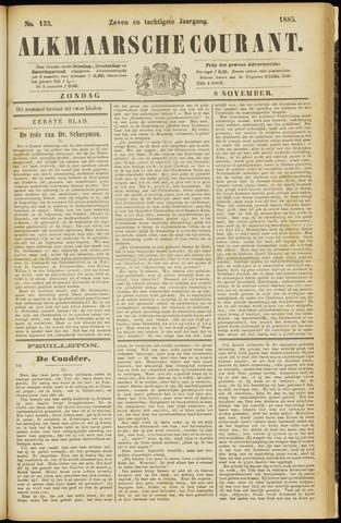 Alkmaarsche Courant 1885-11-08