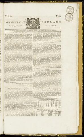 Alkmaarsche Courant 1838-04-02