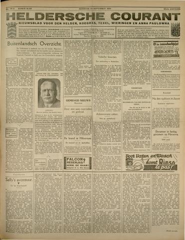 Heldersche Courant 1934-09-29