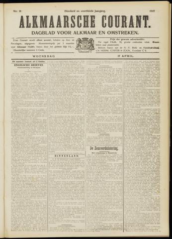 Alkmaarsche Courant 1912-04-17
