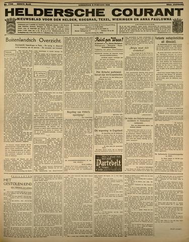 Heldersche Courant 1936-02-06