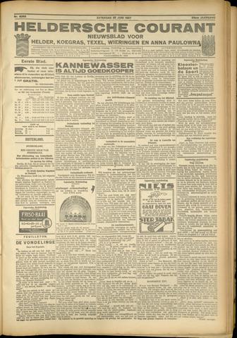 Heldersche Courant 1927-06-25