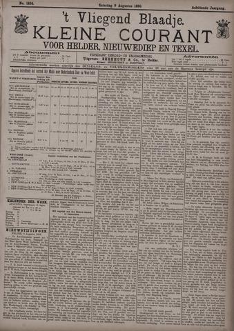 Vliegend blaadje : nieuws- en advertentiebode voor Den Helder 1890-08-09