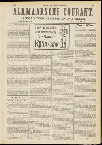 Alkmaarsche Courant 1913-11-20
