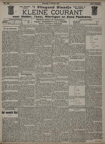 Vliegend blaadje : nieuws- en advertentiebode voor Den Helder 1908-01-11