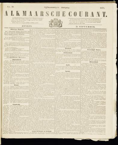 Alkmaarsche Courant 1873-09-21