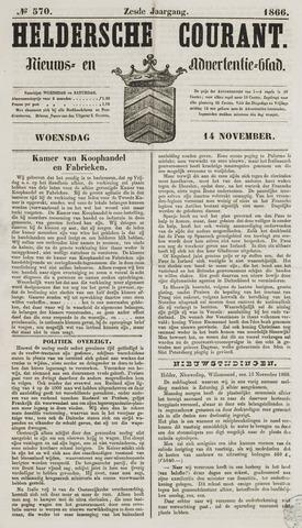 Heldersche Courant 1866-11-14