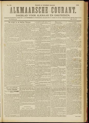 Alkmaarsche Courant 1918-07-16