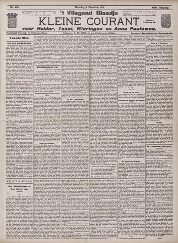 Vliegend blaadje : nieuws- en advertentiebode voor Den Helder 1912-12-04