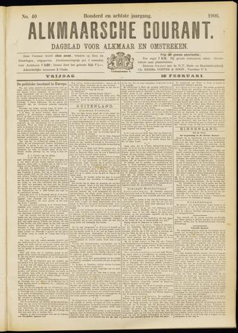 Alkmaarsche Courant 1906-02-16