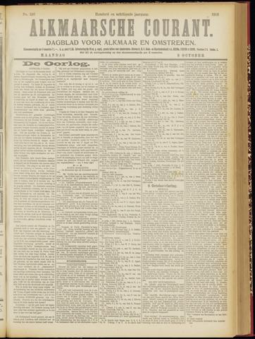 Alkmaarsche Courant 1916-10-09