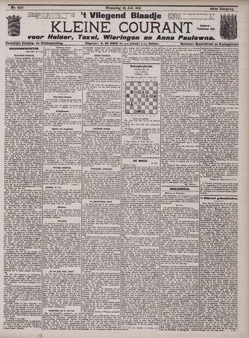 Vliegend blaadje : nieuws- en advertentiebode voor Den Helder 1912-07-24