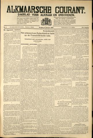 Alkmaarsche Courant 1937-01-08