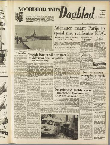 Noordhollands Dagblad : dagblad voor Alkmaar en omgeving 1954-07-03