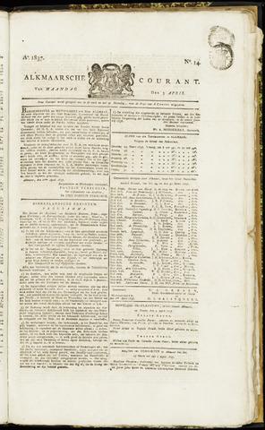 Alkmaarsche Courant 1837-04-03