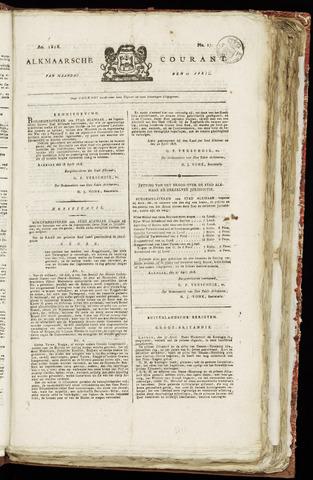 Alkmaarsche Courant 1818-04-27
