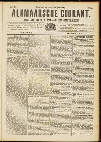 Alkmaarsche Courant 1907-02-15