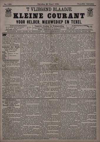Vliegend blaadje : nieuws- en advertentiebode voor Den Helder 1884-03-29