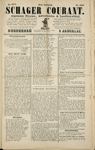 Schager Courant 1877