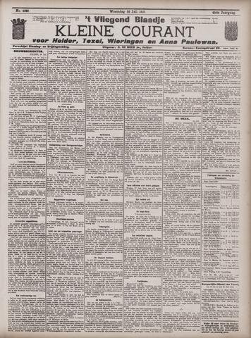 Vliegend blaadje : nieuws- en advertentiebode voor Den Helder 1913-07-30