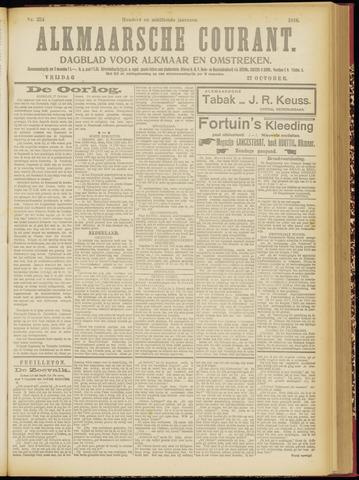 Alkmaarsche Courant 1916-10-27