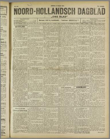 Ons Blad : katholiek nieuwsblad voor N-H 1922-02-21