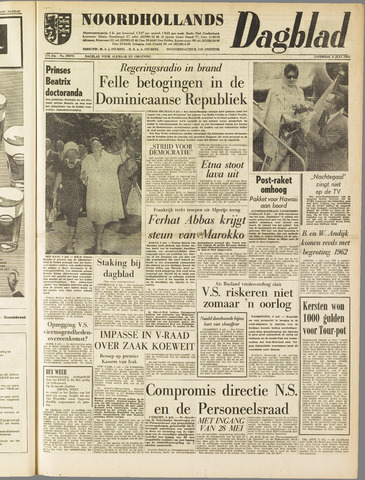 Noordhollands Dagblad : dagblad voor Alkmaar en omgeving 1961-07-08