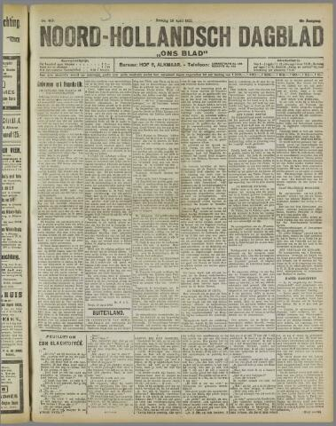 Ons Blad : katholiek nieuwsblad voor N-H 1922-04-25