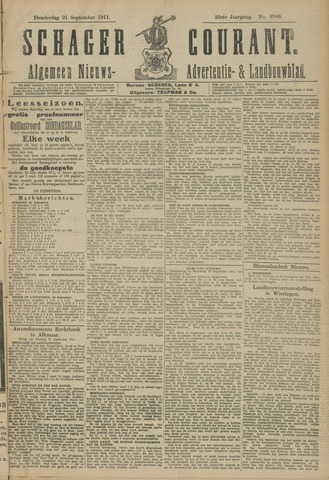 Schager Courant 1911-09-21