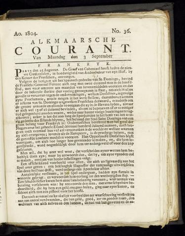 Alkmaarsche Courant 1804-09-03