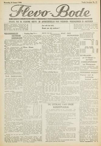Flevo-bode: nieuwsblad voor Wieringen-Wieringermeer 1949-01-26