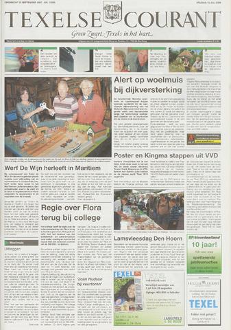 Texelsche Courant 2009-07-10