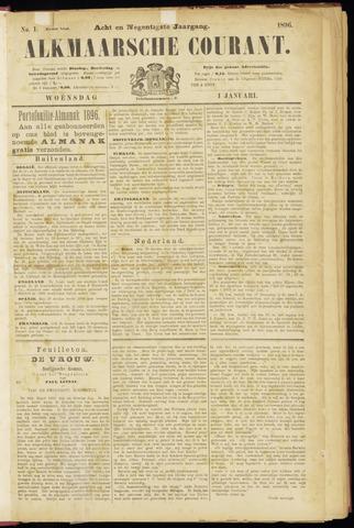 Alkmaarsche Courant 1896-01-01
