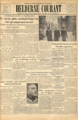 Heldersche Courant 1953-01-07
