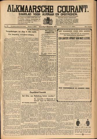 Alkmaarsche Courant 1934-12-08