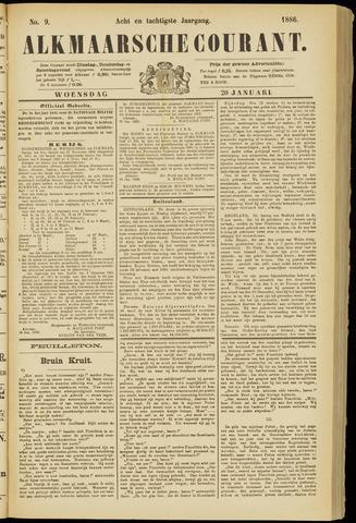 Alkmaarsche Courant 1886-01-20