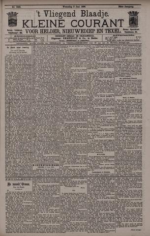 Vliegend blaadje : nieuws- en advertentiebode voor Den Helder 1896-06-03