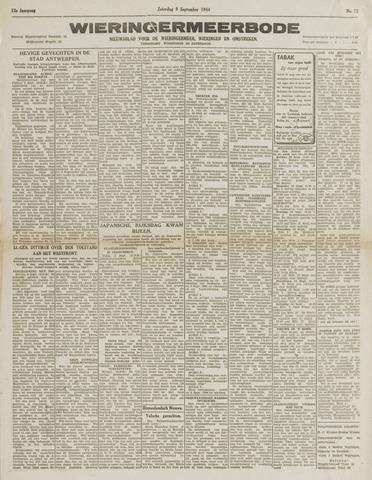 Wieringermeerbode 1944-09-09