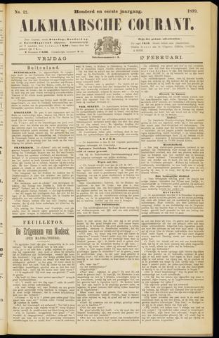 Alkmaarsche Courant 1899-02-17