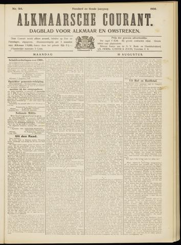Alkmaarsche Courant 1908-08-10