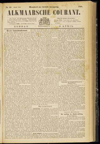 Alkmaarsche Courant 1900-04-15