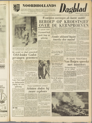 Noordhollands Dagblad : dagblad voor Alkmaar en omgeving 1962-04-10