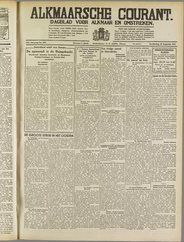 Alkmaarsche Courant 1941-08-28