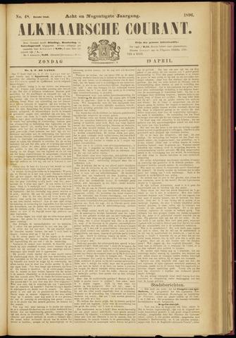 Alkmaarsche Courant 1896-04-19