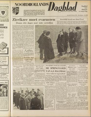Noordhollands Dagblad : dagblad voor Alkmaar en omgeving 1953-02-14