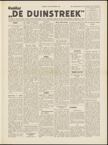 De Duinstreek 1949-09-30