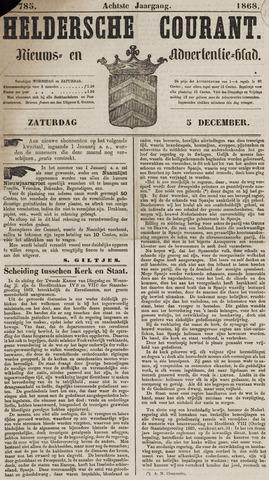 Heldersche Courant 1868-12-05