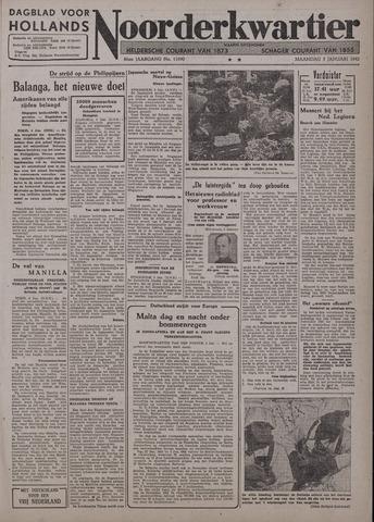 Dagblad voor Hollands Noorderkwartier 1942-01-05