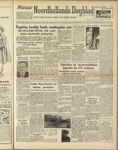 Nieuw Noordhollandsch Dagblad : voor Alkmaar en omgeving 1951-03-17